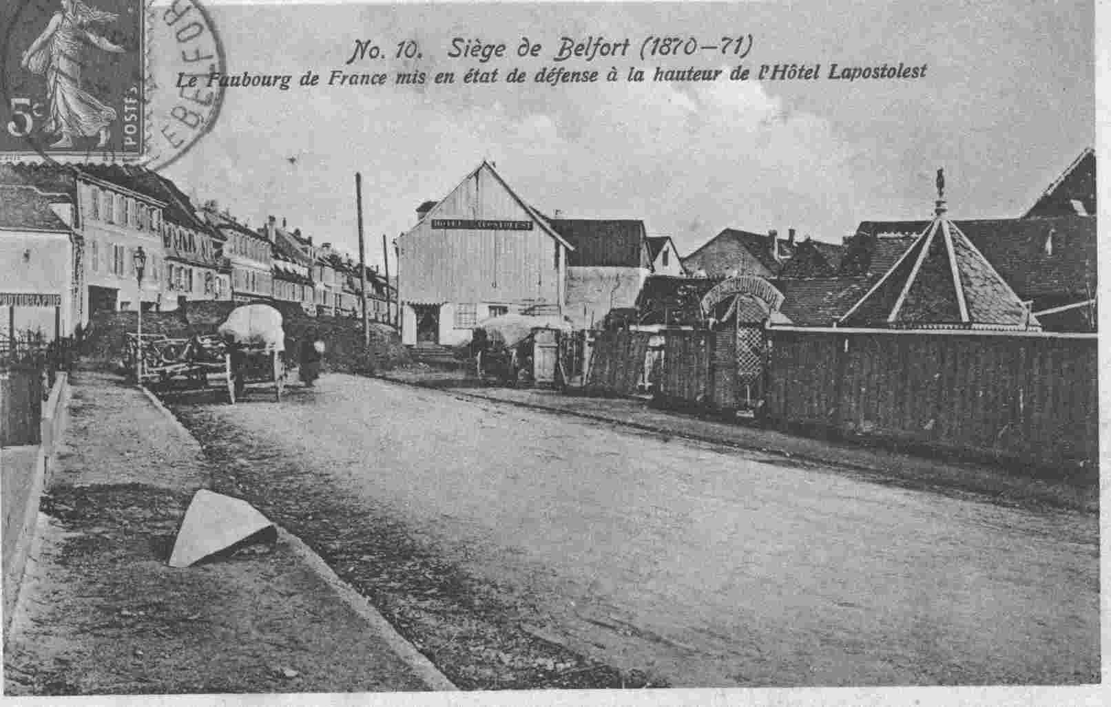 le siege de Belfort
