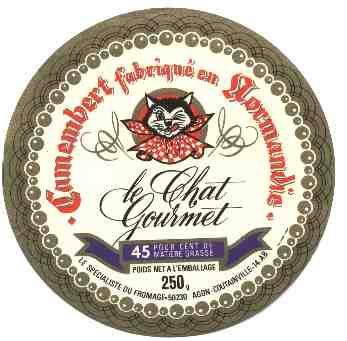 Etiquette de fromage