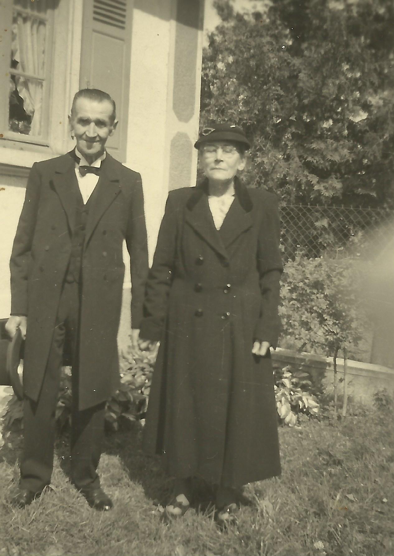 Charles et Marie Haumuller
