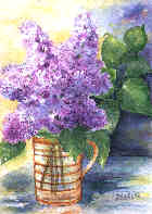 Couleur lilas, parfum lilas