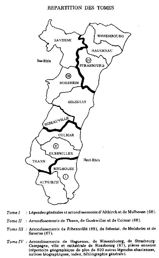 les légendes d'Alsace