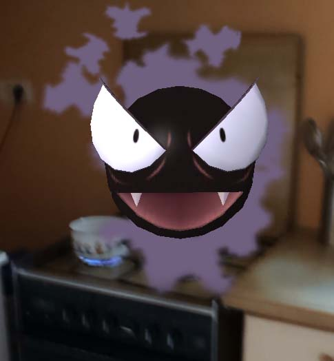 pokemon go Fantominus